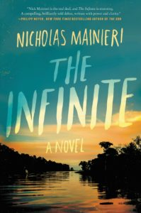 Nicholas Manieri, The Infinite, Book Cover, Crook's Corner Long List